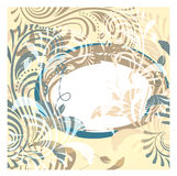 Seamless floral vintage background Stock Image