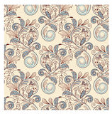 Seamless floral vintage background Stock Photography