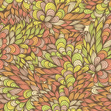 Seamless floral vintage fantasy pattern Royalty Free Stock Photo