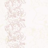 Seamless floral vintage pattern Royalty Free Stock Photos