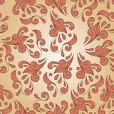 seamless floral vintage pattern Stock Images