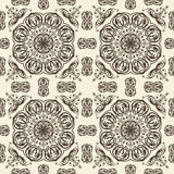 seamless floral vintage pattern Royalty Free Stock Images