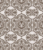 Seamless floral vintage pattern Stock Images