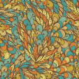 Seamless floral vintage summer pattern Stock Photo