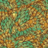 Seamless floral vintage summer pattern Stock Photos