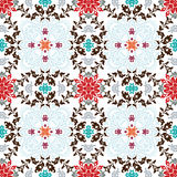 Seamless floral wallpaper Stock Photography