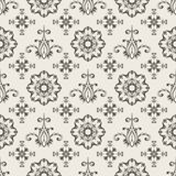 Seamless  Floral Wallpaper. Floral seamless wallpaper pattern, seamless pattern Stock Images