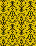 Seamless Floral Wallpaper. With repeating texture Royalty Free Stock Photo