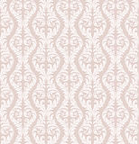 Seamless Floral Wallpaper. The pattern can be repeated with the transform effect in Illustrator, or with Define Pattern in Photoshop Stock Photography