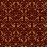 Seamless floral wallpaper Royalty Free Stock Photography