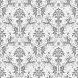 Seamless Floral Wallpaper II royalty free illustration