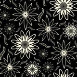 Seamless Floral Wallpaper Patt Stock Photos