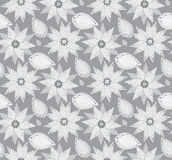Seamless Floral Wallpaper Pattern. Seamless Wallpaper Tile - This pattern repeats on all sides. You can use it to fill your own custom shapes and backgrounds Stock Image
