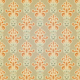 Seamless Floral Wallpaper Pattern. Seamless floral wallpaper floeal pattern Royalty Free Stock Image