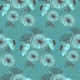 Seamless Floral Wallpaper Pattern Stock Photos