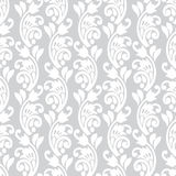 Seamless floral wallpaper Stock Image