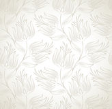Seamless floral wallpaper Royalty Free Stock Photo