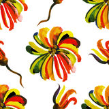 Seamless floral watercolor pattern 19 Stock Photography