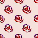 Seamless floral watercolor pattern 11 Royalty Free Stock Photography