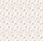 Seamless floral wedding card background Royalty Free Stock Images