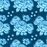 Seamless floral zhostovo pattern Royalty Free Stock Photography