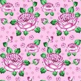 Seamless floral zhostovo pattern Stock Photography
