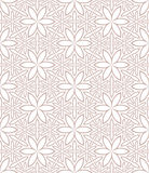 Seamless florall pattern. The vector pattern and JPG are both seamless Royalty Free Stock Photos