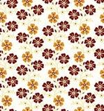 Seamless - Flourish background Stock Image