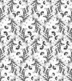 Seamless flourish pattern Stock Photography