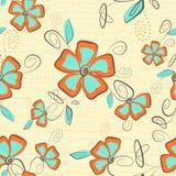 Seamless Flower Royalty Free Stock Image