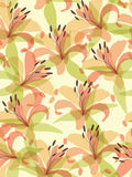 Seamless flower background royalty free illustration