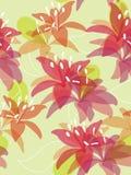 Seamless flower background Royalty Free Stock Photos