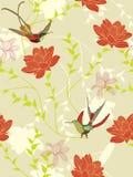 Seamless flower background Stock Image