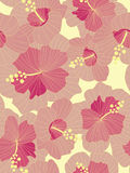 Seamless flower background vector illustration