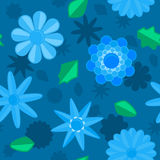 Seamless Flower Background Stock Photos