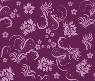 Seamless flower background. Royalty Free Stock Photo