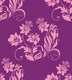 Seamless flower background. Stock Photo