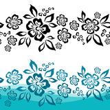 Seamless Flower Background Royalty Free Stock Photography