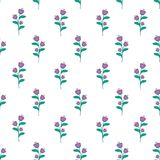 Seamless Flower Background. Seamless background with flower / floral Pattern Stock Photos