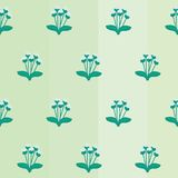 Seamless Flower Background. Seamless background with flower / floral Pattern Stock Illustration