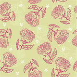 Seamless flower background in vector. Seamless form backdrops for the design of fabrics and wallpapers Royalty Free Stock Photos