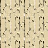Seamless flower blossom stripes. Serene blossom stripes pattern Royalty Free Stock Photos