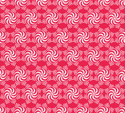 Seamless flower and gear pattern Stock Photo
