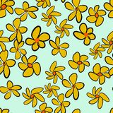 Seamless flower illustrations background abstract, hand drawn. Pattern, graphic, color & drawing. Seamless flower illustrations background abstract, hand drawn Stock Illustration