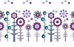 Seamless flower patten Stock Photography