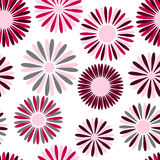 Seamless flower patten Stock Photos
