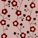 Seamless flower patten Royalty Free Stock Photography