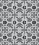Seamless flower pattern Stock Image