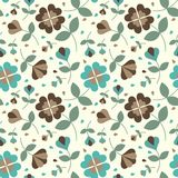 Seamless flower pattern_2 Royalty Free Stock Images
