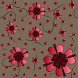 Seamless Flower Pattern Royalty Free Stock Image